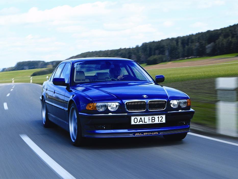 Спойлер за предна броня за BMW Alpina e38