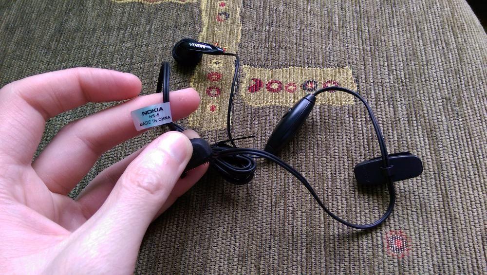 Handsfree Nokia HS-5 Original NOU