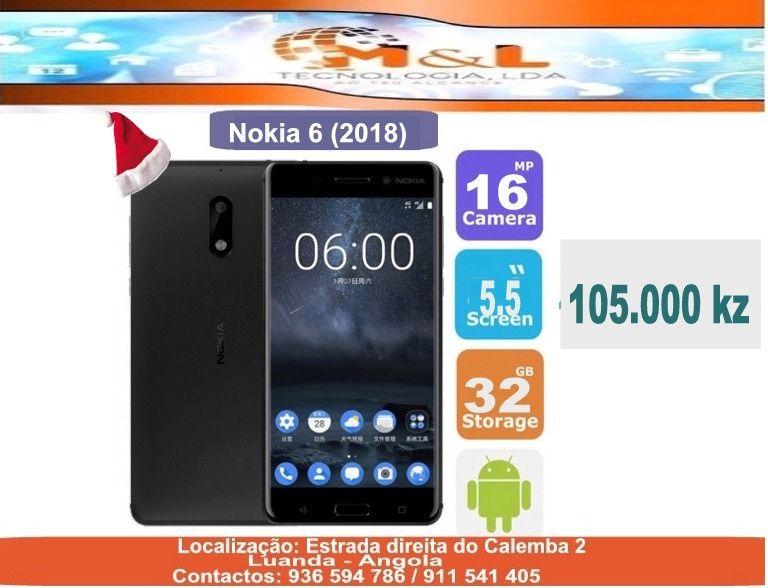 Telemovel Nokia 6 (2018) novo e original