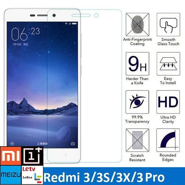 Folie Sticla Xiaomi Redmi 3, 3s, 3x, 3pro. 5.0 inch (2016). NOU!