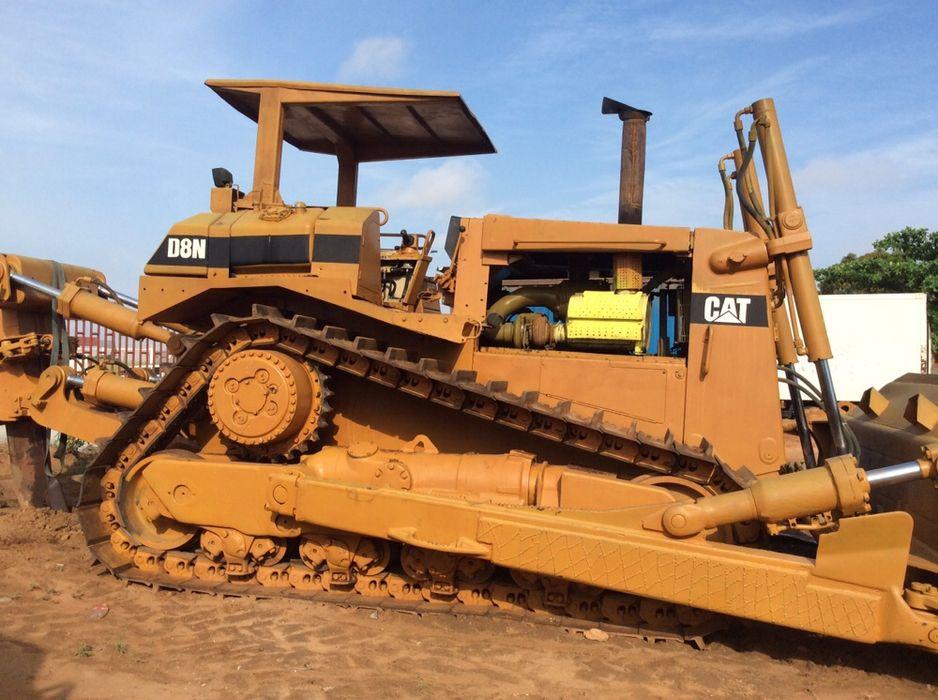 Vendo buldozer e riper caterpillar D-8-n