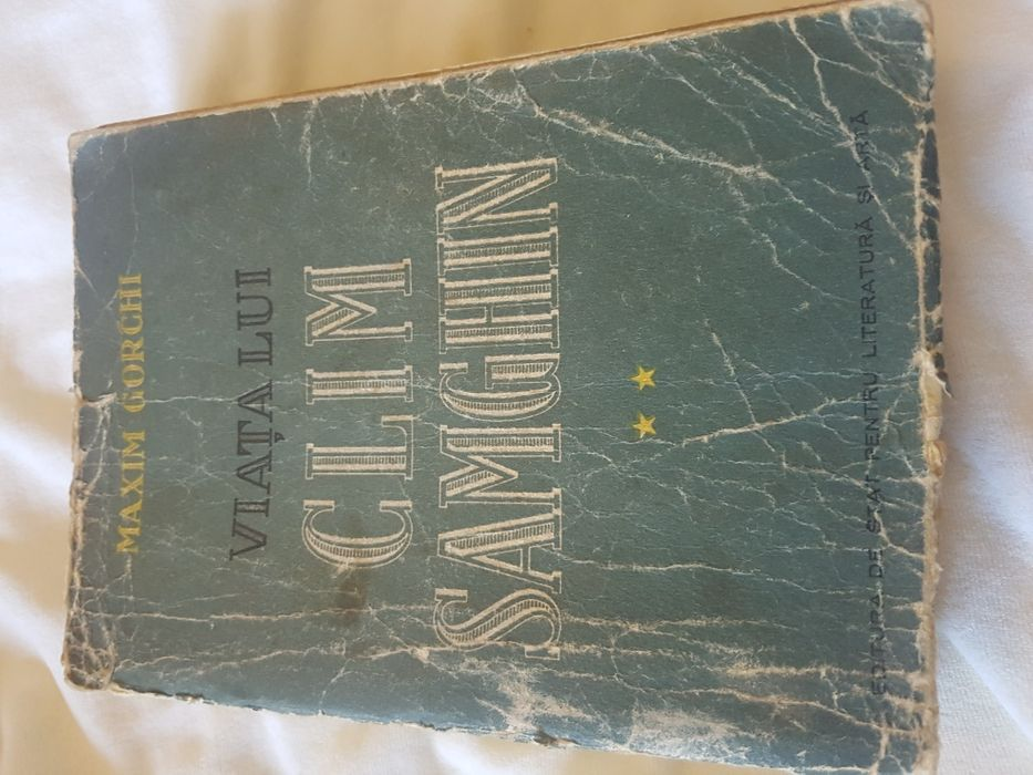Viata lui Clim Samghin, Maxim Gorchi, ed. de stat pt. Literatura, 1952