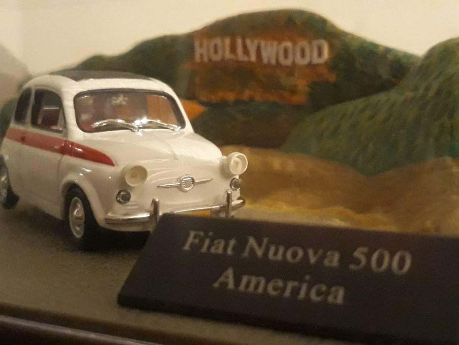 КОЛЕКЦИОНЕРСКА Диорама на FIAT Nouva 500 America