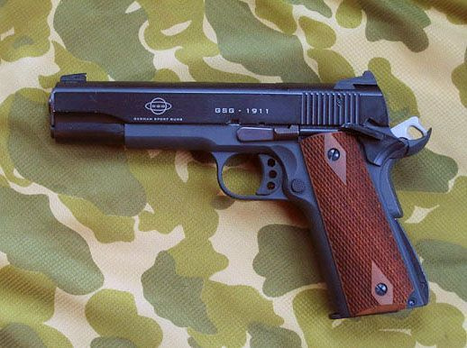 Pistol UPGRADAT (Putere Dubla!!) COLT Adevarat Co2 gaz arc nou AIrSoft