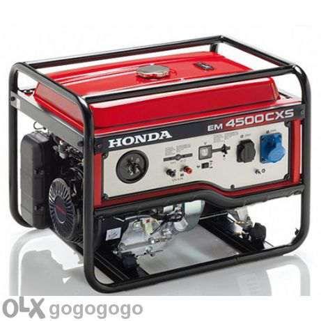 Генератор с двигател Хонда 8 к.с електрически стартер