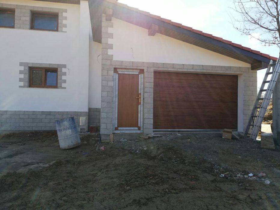 Ușa Garaj 3220x2030 Stejar - Montaj Stei Bihor