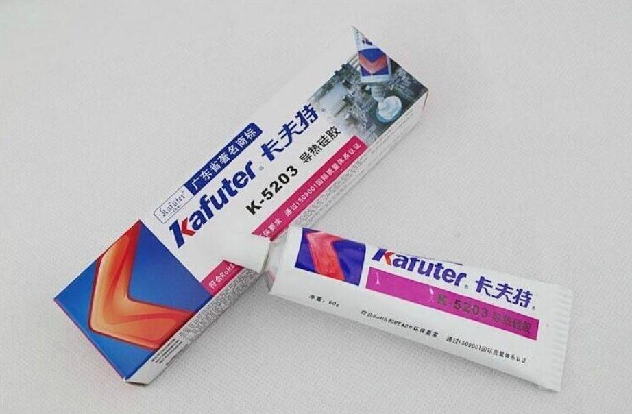 Продам теплопроводный клей Kafuter k-5203 (термосиликон) 80 грам