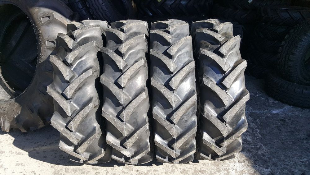 Cauciucuri noi 9.5-20 OZKA cu 8 pliuri anvelope tractiune tractor fata