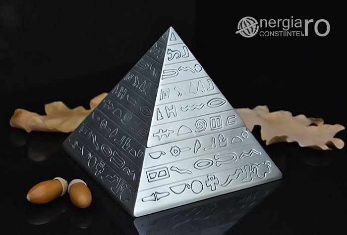 Piramidă Energetică Orgonică Pentru Energizare Obiecte - cod ORG030