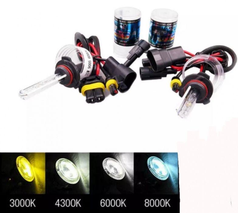 Bec xenon D2S H 1 4 7 10 H27 880 , 9005 9006 5000K 9004 3000K 9007 H13