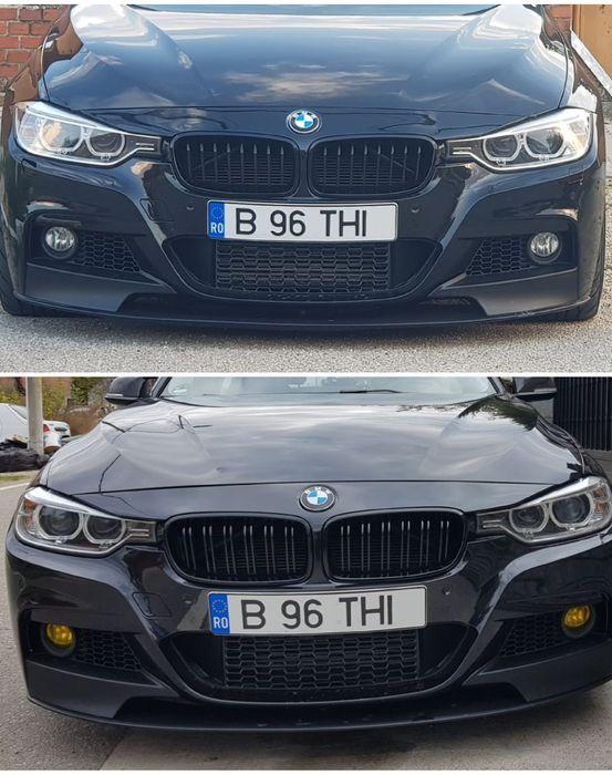 Grile negru lucios BMW F30 F31
