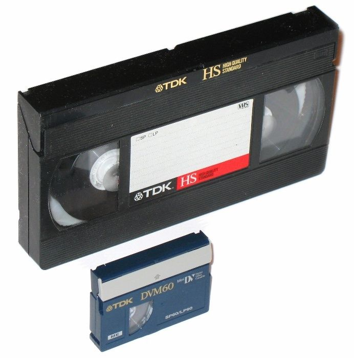 Оцифровка видеокассет VHS, miniDV, обработка видео/аудио