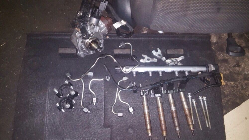 Kit injecție bmw e60 e90 e92 N47 177cp injectoare rampa pompa înalte