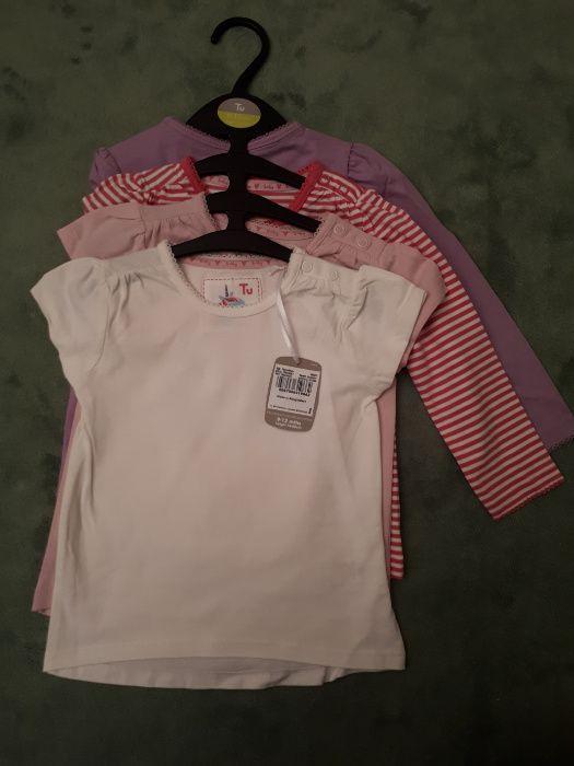 Нови блузки за момиченца 4 бр.