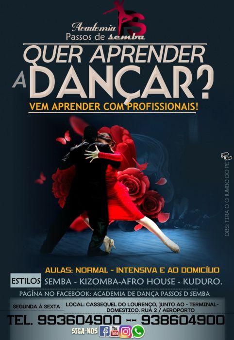 Quer aprender a dançar? Vem aprender com profissionais