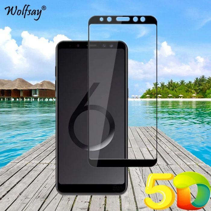Folie sticla securizata Samsung 5D A6 / A6 Plus / A8 2018/ A8 Plus