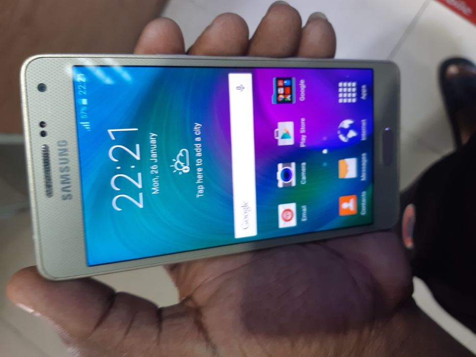Galaxy A5 32g dual sim card dourado ha melhor