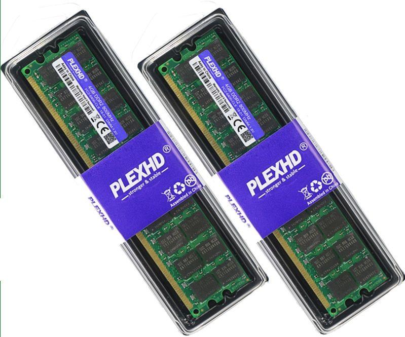 Нови!!! 4GB DDR2 DDR3 Ram