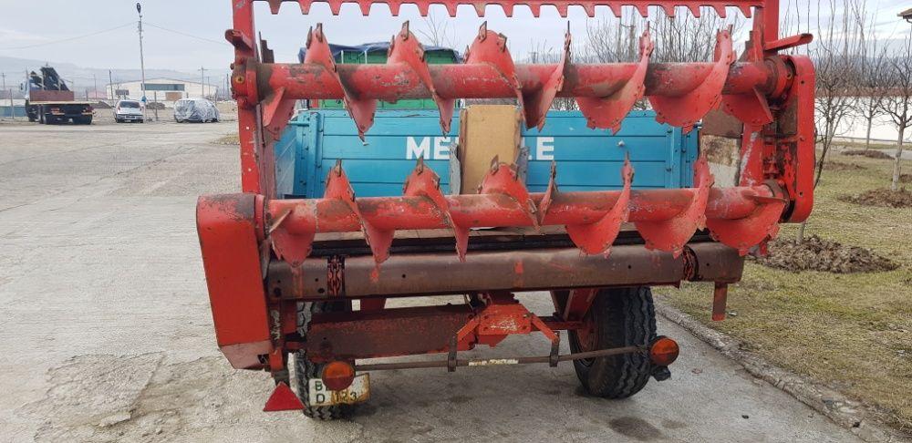 Remorca pentru transport si imprastiat gunoi de grajd MENGELE Hunedoara - imagine 3