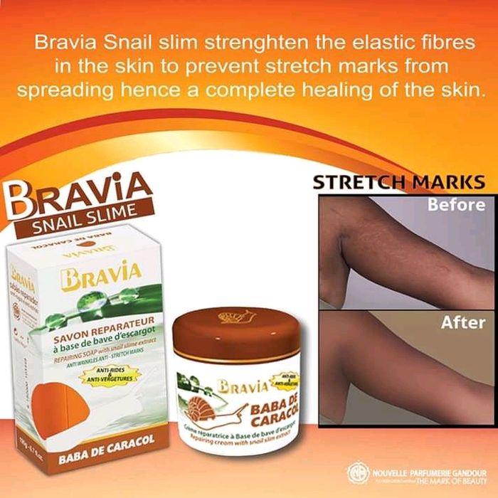 Baba de caracol para rejuvenescer a pele, eliminar estrias