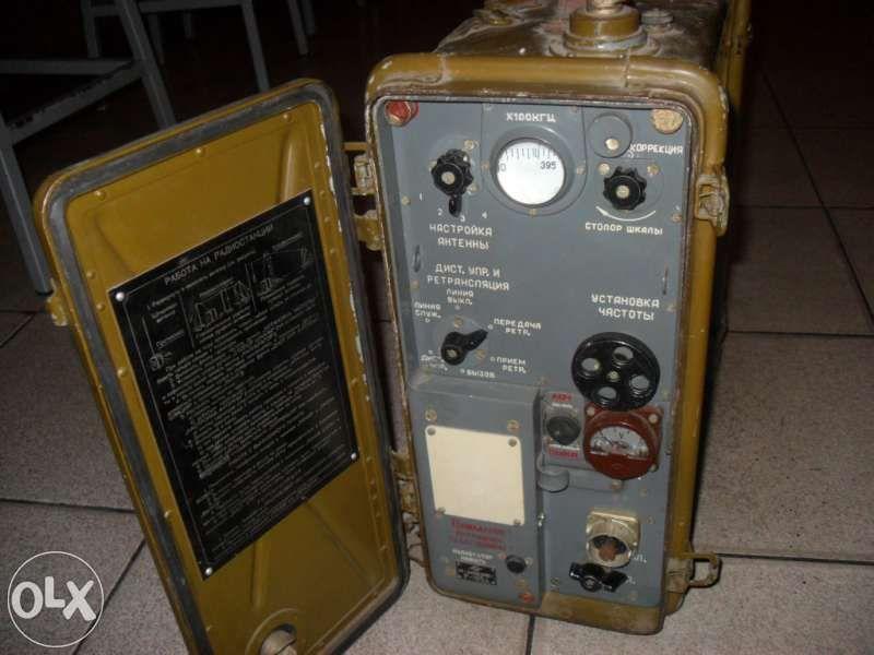 Военна радиостанция преносима