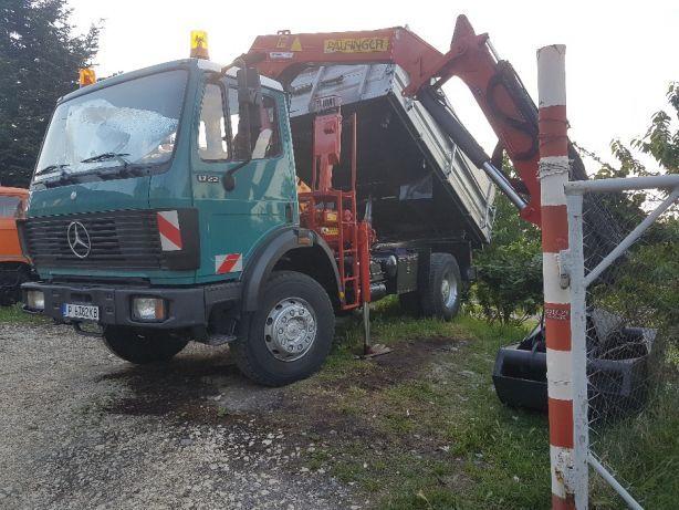 Транспортни услуги с камион-самосвал с кран за Русе