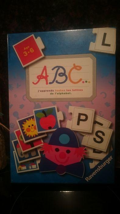 Детска игра-пъзел за учене на френската азбука на Ravensburger-нова, н