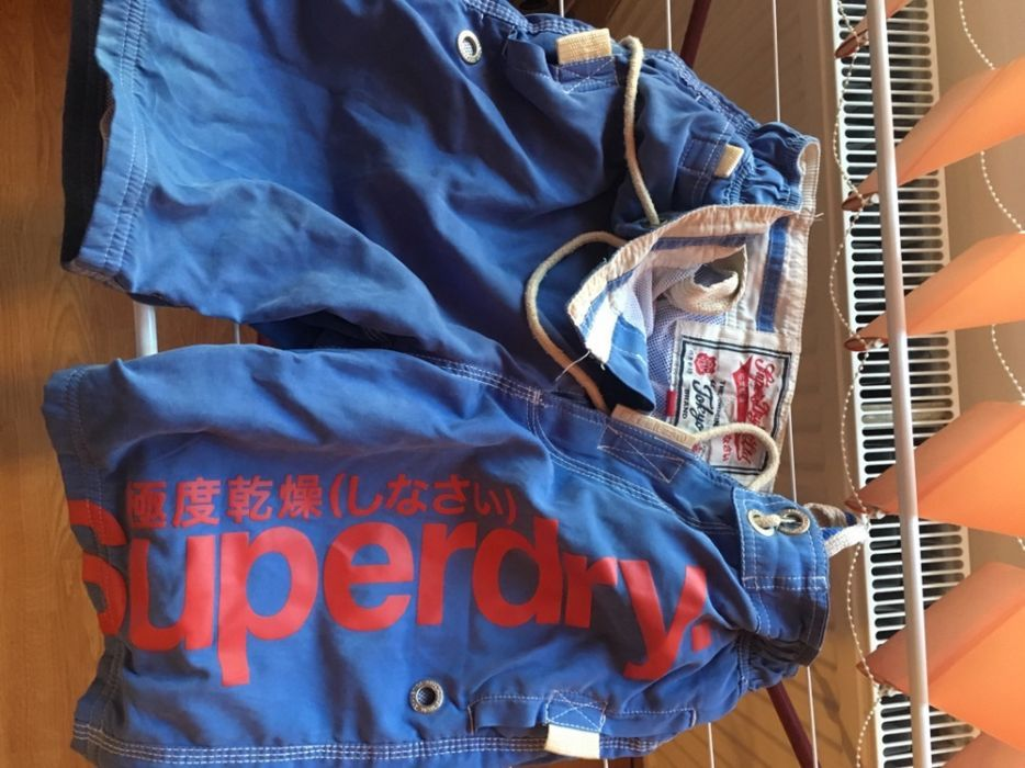 Pantaloni te plaja Superdry originali