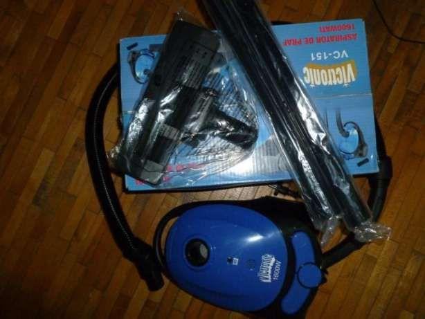 aspirator 1600w,incutie,facutdoarproba,cuaccesorii,rambursposta