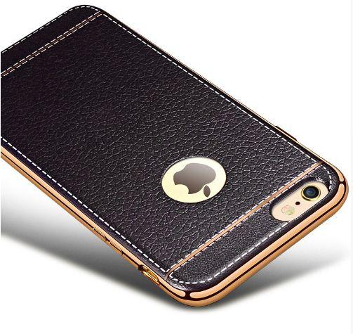 Husa Ultra Slim iPhone 7, 7Plus aspect piele