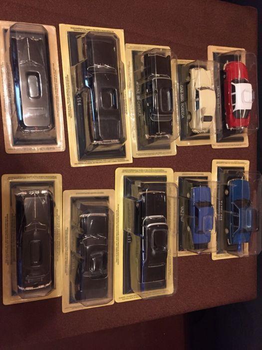 Colecție machete auto URSS