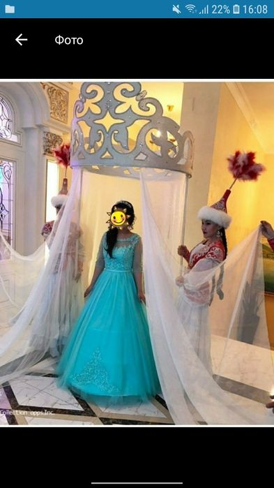 Платье на узату