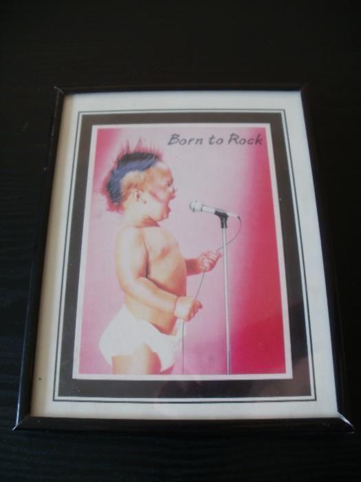 Снимка в рамка Born to Rock