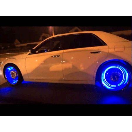 Tampa de ar de pneu com luz.. modificar seu carro...