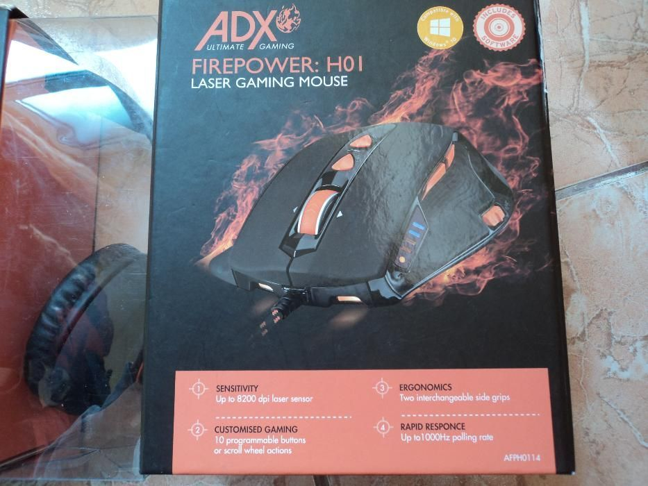 Mouse gaming ADX Firepower H01