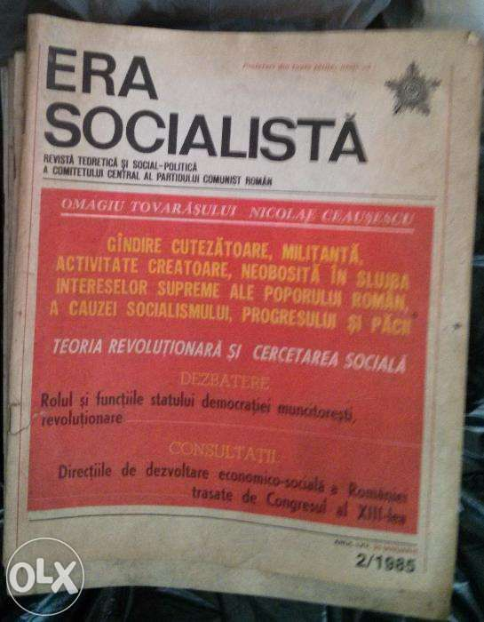 Colectie reviste Era Socialista