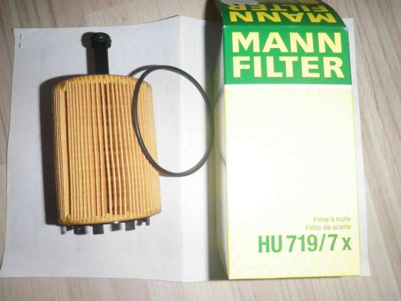 Нов маслен филтър MANN FILTER HU719/7х - % OFF