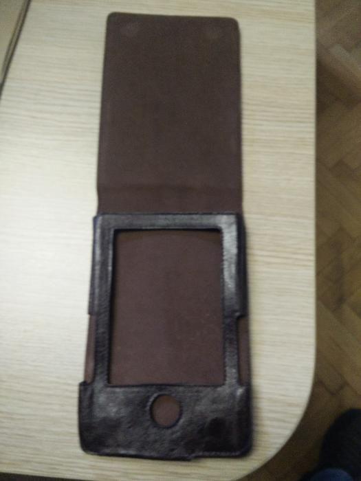 Оригинален кожен калъф за електронна книга PocketBook 302