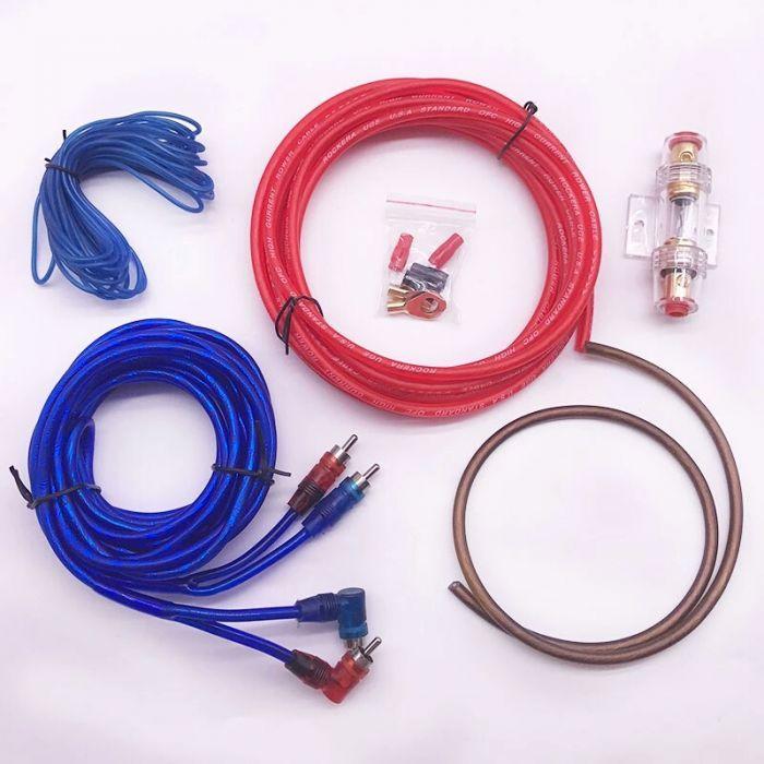 Kit cabluri subwoofer (cablul de plus este de 16)