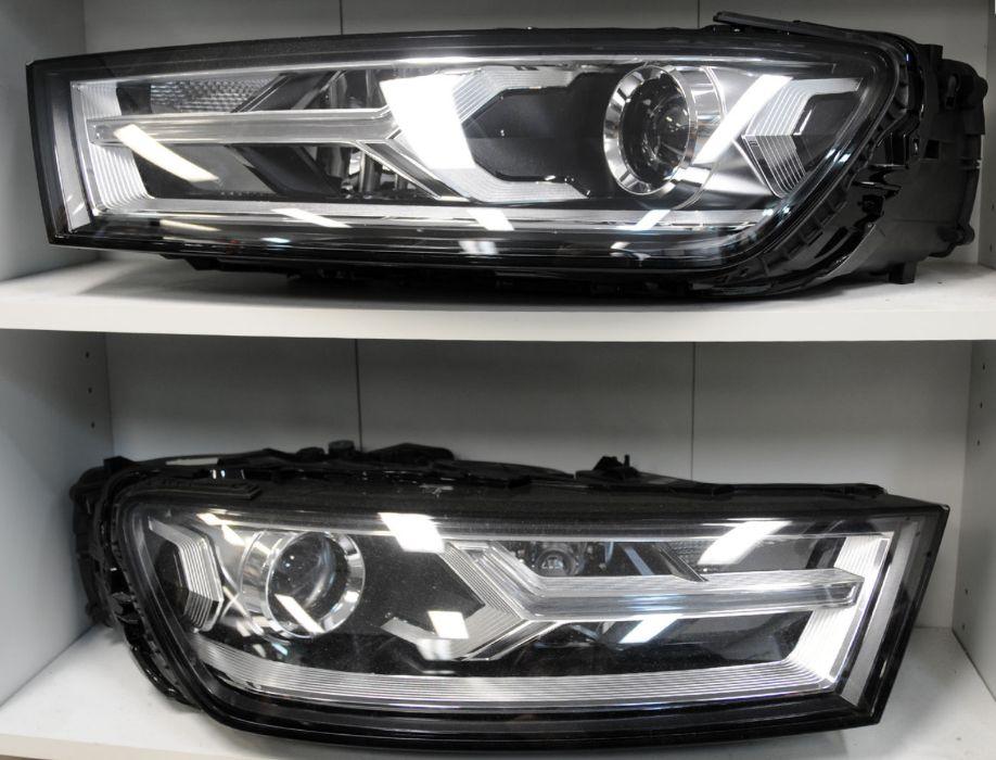 Audi Q7 4M Bi Xenon LED headlamp 4M0.941.006 / 4M0.941.005 4M0941005