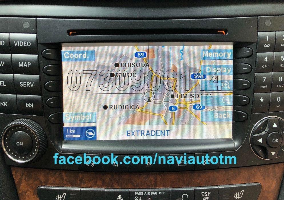 MERCEDES-BENZ DVD ML Navigatie Comand Aps NTG2 C ML VITO Romania 2018