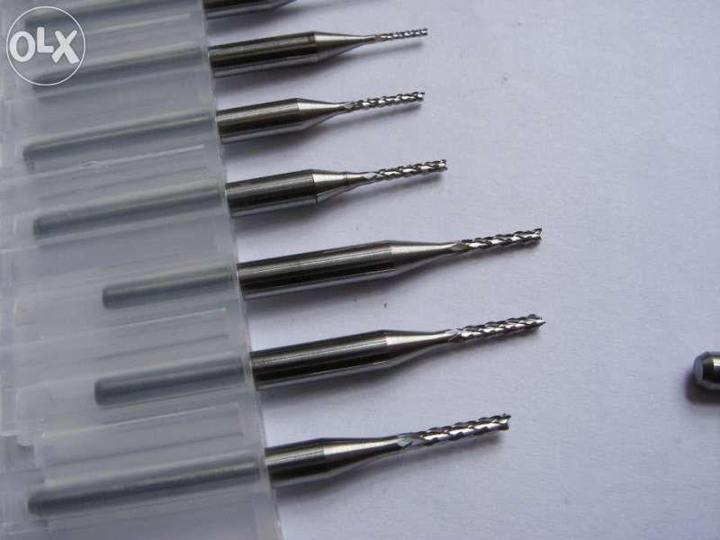 Фрезери цилиндрични Ф 0,6-3,0 mm твърдосплавни комплект Дремел Dremel