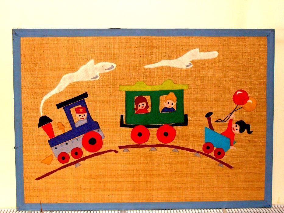 Tablou VESEL / Afisier mare pt. camera copilului