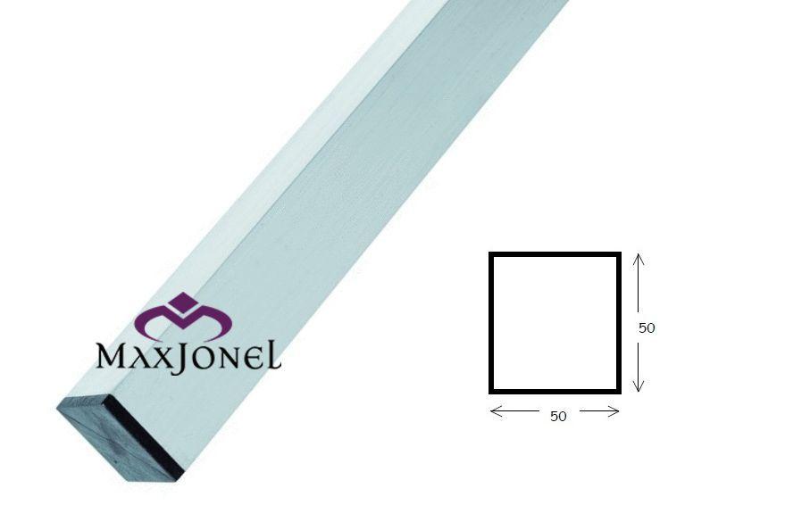 Dreptar aluminiu rectangular 50x50x1.5mm