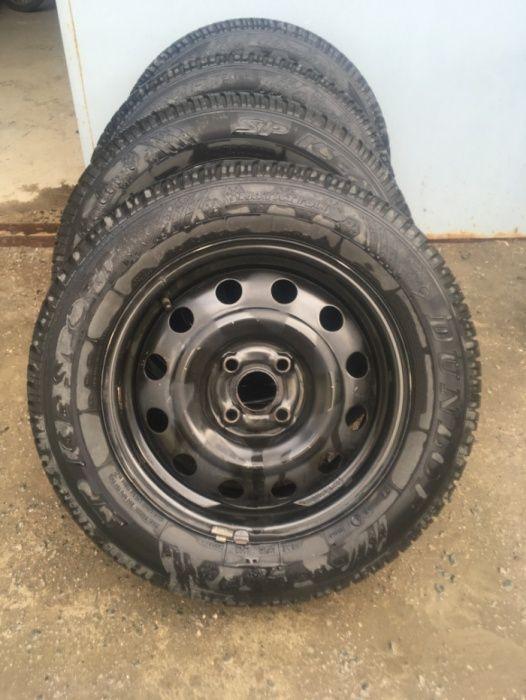 Шины с дисками зимние на Kia Rio