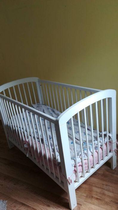 Детско дървено легло/кошара Premaman, Двулицев матрак Блян
