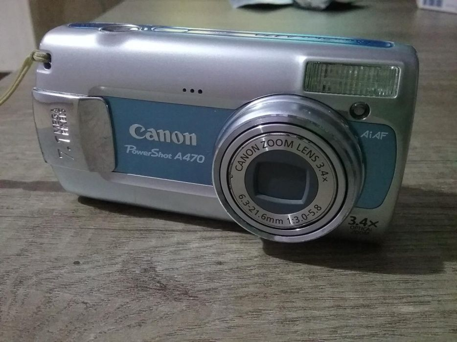 Camera canon a470 defecta