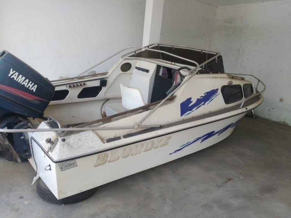 Barco Operacional | Motor: YAMAHA | Modelo: 90 | Em bom estado Bairro do Jardim - imagem 4