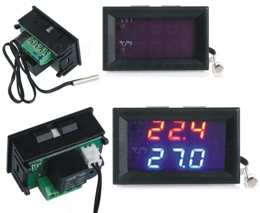 Termostat digital, termoregulator -50/+110 12V regulator temperatura