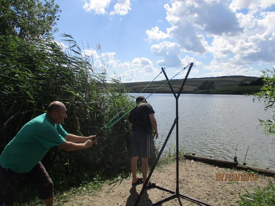 Catapulta nadire pescuit, cu carabine, dist. pana la 140m - sector 6